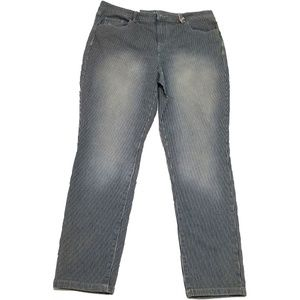 Style Co Skinny Ankle Jeans Signal Grey 10